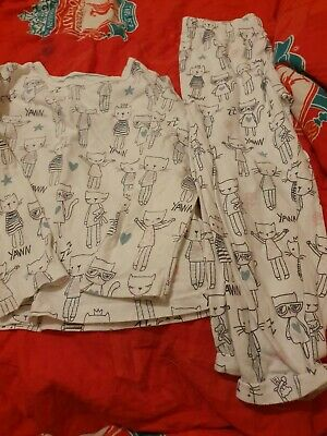 Lovely Girls M&S Pyjamas Age 3-4 Years