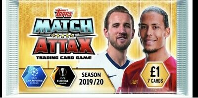 Match Attax 19/20 Limited Edition Cards 2019/20 UEFA Champions League