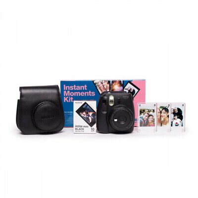 Fuji Instax Mini 9 Black Instant Moments Kit
