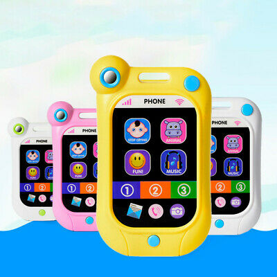 Kids Simulator Music Toy Cell Phone Educational Learning Child Gift