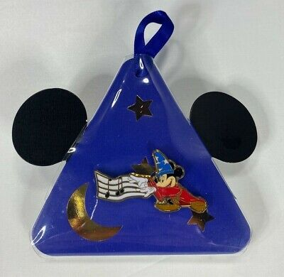 2019 Disney Christmas Holiday Gifting Pin (Fantasia) Sorcerer Mickey LR