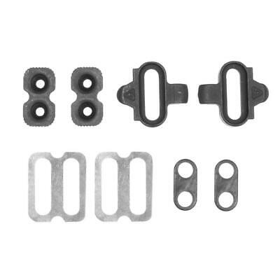 Bike Cleats Set Clips Kit w/Hardware Nuts Clip-in Cleats for Shimano SPD #gib