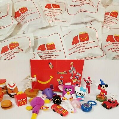 🔥Surprise💥 40th Anniversary 2019 McDonalds Happy Meal Toys #1 ➡ #18 +Sets🔷Box