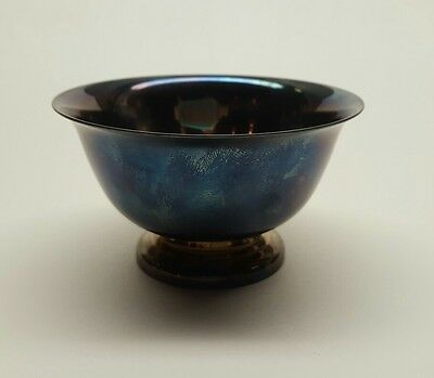 Reed and Barton bowl Paul Revere design 14 and Paul Revere Reproduction Dish