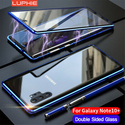 For Samsung S20 Note 10 Plus A50 A70 Magnetic Adsorption Case Screen Protector