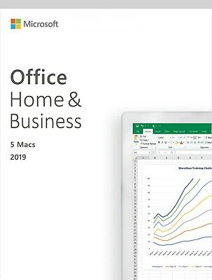*Genuine* Microsoft Office Home & Business 2019 for Mac - 5 Devices | ON SALE |