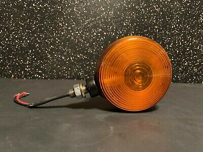 """Grote 5529 Double Sided 4"""" Round Amber Marker Trailer Light"""