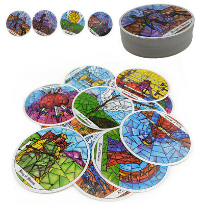 78pcs Monastery Tarot The Cloisters Tarot Deck Cards Party Playing Game Cards