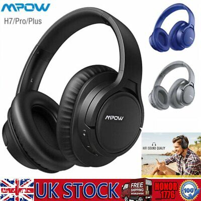 Mpow H7 Wireless Bluetooth Headsets Foldable Headphones 18 Hours Play Time Mic