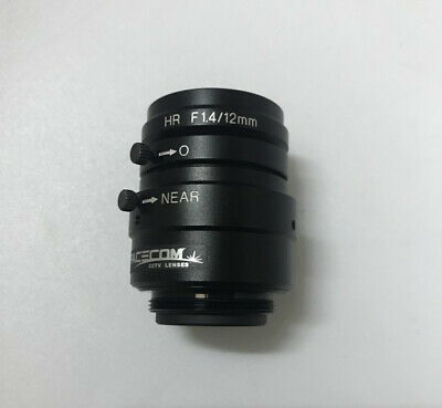 one used KEYENCE CA-LH12 HR F1.4/12MM Industrial macro lens free shipping #YP1