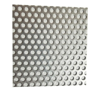 5mm Hole X 8mm Pitch X 1mm Thick Stainless Steel Perforated Mesh Sheet Quality