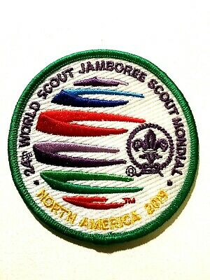 24th WORLD SCOUT JAMBOREE USA 2019. OFFICIAL VISITOR BADGE.