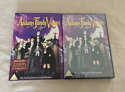 Addams Family Dvd Sealed With Slip Case