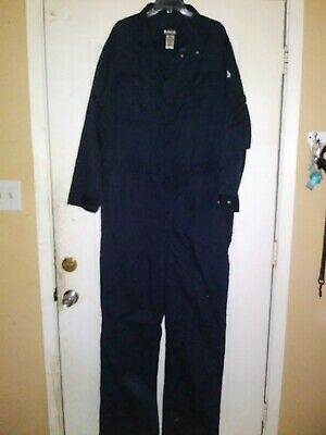 Bulwark new  Flame-Resistant Safety Work Coveralls ( 42-LN ) Blue