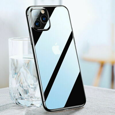 CLEAR Case For iPhone 11 Pro XR X XS Max 5s 6 7 8 Plus Cover Shockproof Silicone