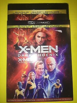 X-MEN Dark Phoenix (4K Ultra HD + Blu-ray + Digital, Bilingual)