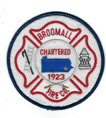 Broomall (Delaware County) PA Pennsylvania Fire Company patch - NEW!