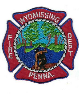 Wyomissing (Berks County) PA Pennsylvania Fire Dept. patch - NEW!