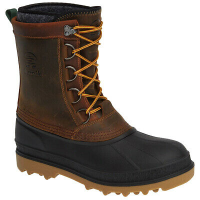 Kamik Nation Plus Pack Duck Boot Brown Men 100% Satisfaction