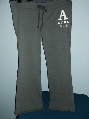 Aeropostale Women's NWT Fit And Flare Athletic Gym Sweatpants Pants NEW XXL Gray