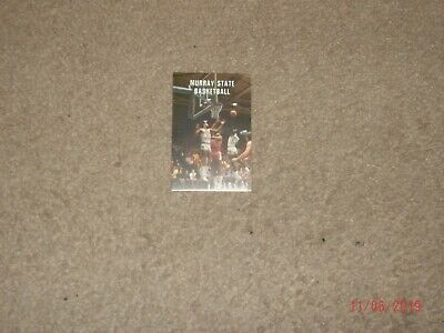 Omaha Racers 1991//92 CBA Basketball Pocket Schedule The Prudential