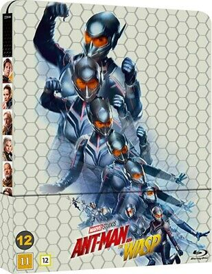 Ant Man and the Wasp Limited Edition Steelbook Blu Ray