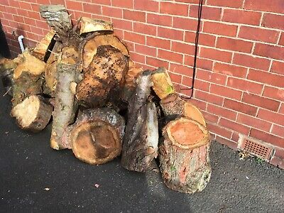 Logs and Kindling Sign Log Burner Fire Wood Store Pub Hotel Vintage Old Look