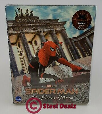 SPIDER-MAN FAR FROM HOME [4K UHD 3D + 2D+BD] BLU-RAY STEELBOOK [WeET COLLECTION]
