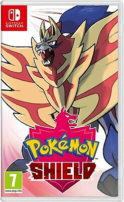 Pokémon Shield (Nintendo Switch,2019) New
