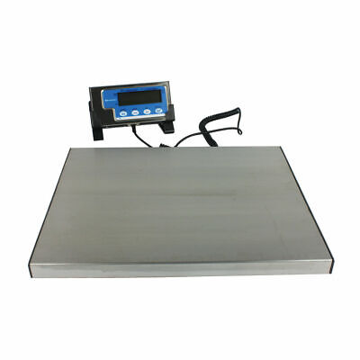 NEW! Salter Silver Electronic Parcel Scale 120kg Includes hold and tare function