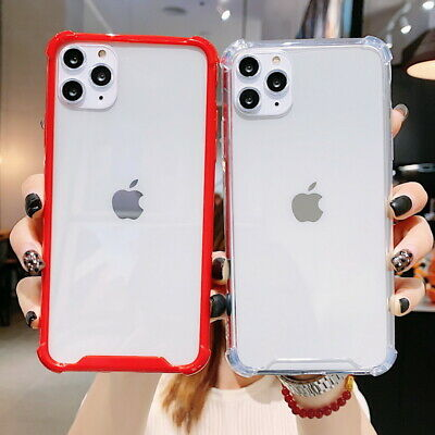 For iPhone XS Max XR X 8 7 6s Plus Shockproof Thin Soft TPU Silicone Case Cover