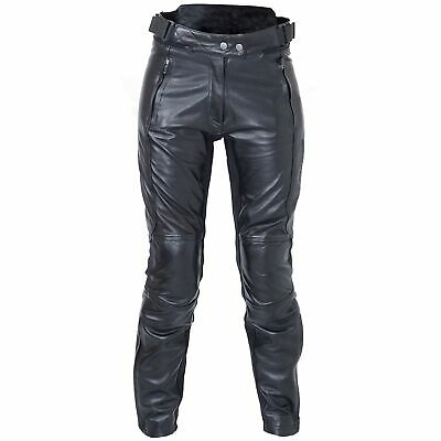 RST Kate CE Ladies Leather Motorcycle Jeans Black Medium