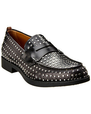 best authentic new cheap half off BURBERRY D RING Studded Leather Loafer Men's 1312416150 ...