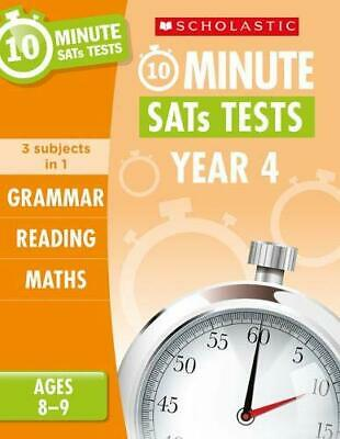 Reading  Grammar and Maths Year 4 (10 Minute SATs Tests) New Paperback Book