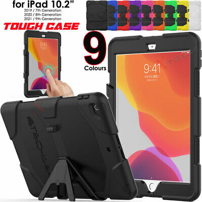 "for iPad 10.2"" 2019 Tough HEAVY DUTY Shockproof Rugged Survival Stand Case Cover"
