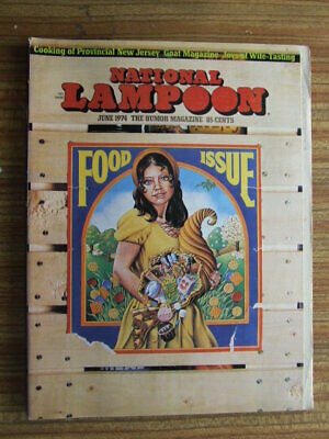 """National Lampoon"" June 1974.  Classic US Humour Magazine."