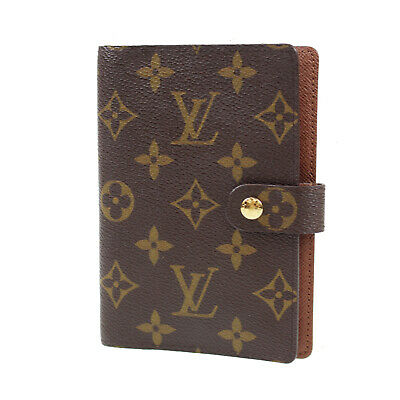 LOUIS VUITTON Agenda PM Day Planner Cover Monogram R20005 Vintage Auth #Z870 W