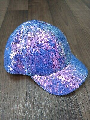 Girls age 3 to 6 Sparkly Purple Cap Marks And Spencer
