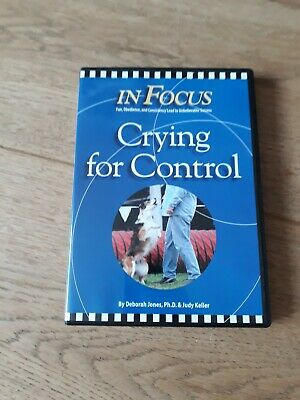 Crying for Control dog training agility DVD.