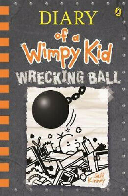 Diary of a Wimpy Kid #14 Wrecking Ball by Jeff Kinney by Jeff Kinney.
