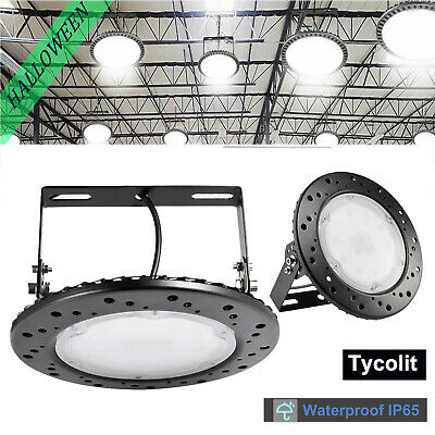 UFO LED High Bay Light 100W 200W 300W Factory Office Warehouse Gym Light 6500K