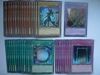 Dark Magician Deck * Ready To Play * Yu-gi-oh