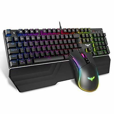 HAVIT Gaming Tastatur und Maus Set, UK Layout HV KB392L