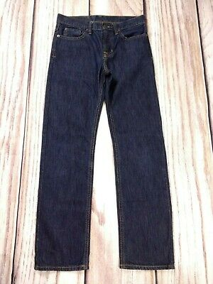 Boys Youth Polo Ralph Lauren Vestry Dark Denim Straight Jeans 12 Years W28