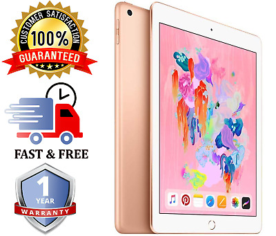 "Apple iPad 6th Gen |9.7"" - 32GB - Rose Gold - WiFi - Various Grades"
