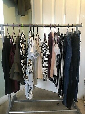 Girls River Island Age 7 8 Huge Bundle 99p Tops Jeans Outfits