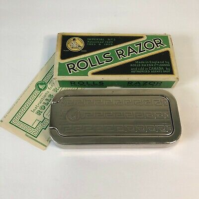 Rolls Razor Vintage Imperial #2 includes Box & Instructions