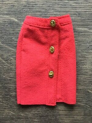 NEW Coach Barbie Doll Suede skirt with real metal fastenings