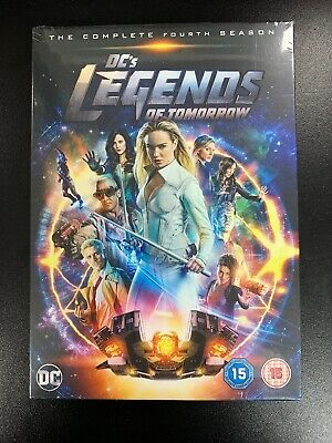 DC's Legends of Tomorrow Season 4 (Fourth Series) DVD - Official Uk New & Sealed