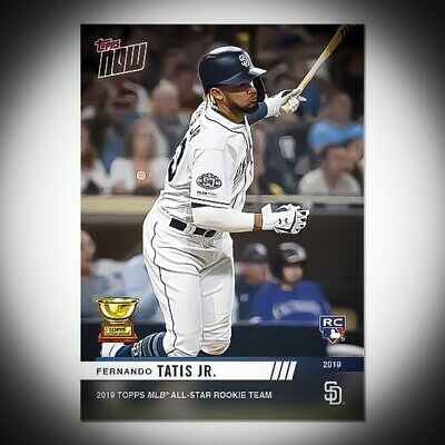 🛑👀 2019 Topps Now All Star Rookie Team Fernando Tatis Jr 🔥 Quick Shipping